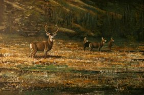 Ron Jenkins (1932-), Oil On Artist Board,