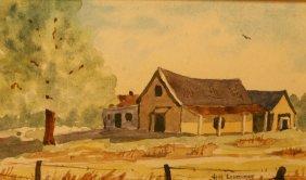 Jim Larcome, Watercolor,
