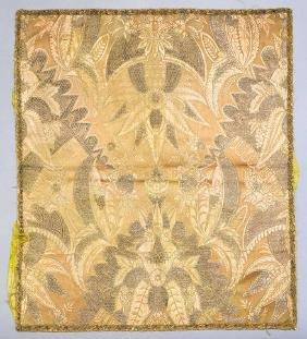 Silk & Metallic Brocade Square, 1690-1720