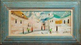 Alberto Ruiz Vela Original Oil Painting