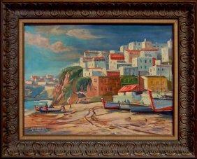 Russ Webster (1904-1984) Mass., Oil Painting