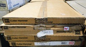 Five Cutler-Hammer Series A Panel Covers, Five New