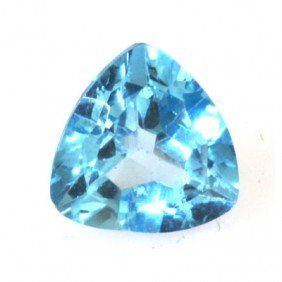Natural 3.03ctw Blue Topaz Trllion Cut 9x9 Stone