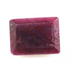 Natural 22.93ctw Ruby Emerald Cut Stone