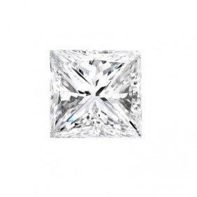 Genuine Princess Cut 0.40ctw Loose Diamond G To H, SI2