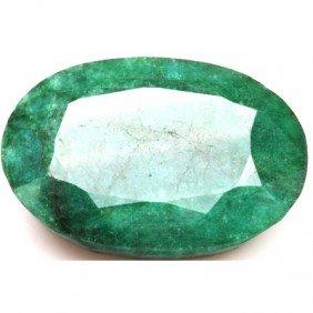 African Emerald Loose Gems 70.35ctw Oval Cut