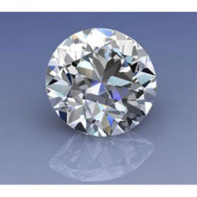 EGL Certified 0.60 Ct ROUND BRILLIANT  F, VS1