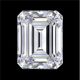 GIA Certified Emerald Cut Diamond 1.00 E VVS1