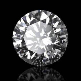 Diamond EGL Cert. ID:7701626433 Round 0.50 Ctw E, Si1