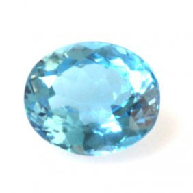 Natural 10.74ctw Blue Topaz Oval 12x14 Stone