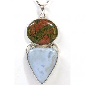 19.95g Semi-Precious Stone Pendant