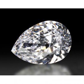 Diamond GIA Cert.ID:1129332564 Pear 0.74 Ctw D, SI2
