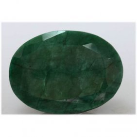 Natural 262.75 Ctw African Emerald Long Oval