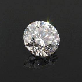 Diamond EGL Certified Round 1.61 Ctw F, VS2
