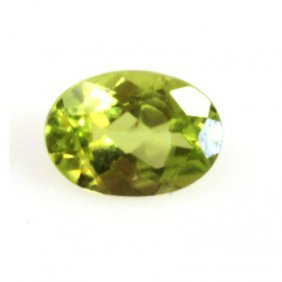 Natural 5.44ctw Peridot Oval 5x7 (2) Stone