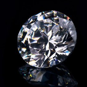 Diamond GIA Cert.ID: 2141386020 Round 0.50 Ctw E, VS2