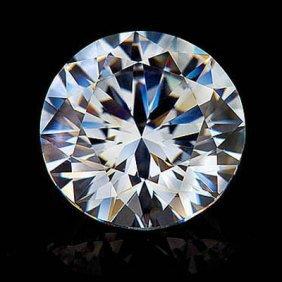 Diamond EGL Certified Round 0.93 Ctw H,SI2