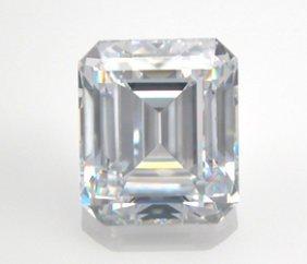 EGL CERT. EMERALD DIAMOND 0.55 CTW H/VS1