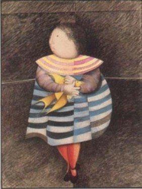 "Graciela Rodo Boulanger ""L'Oiseau Jaune""."