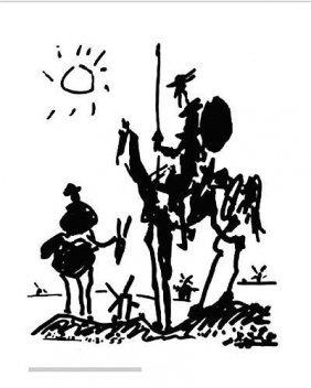 """Pablo Picasso """"Don Quixote"""" LE Offset Lithograph"""