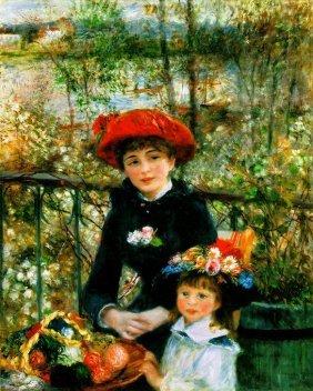 On The Terrace, By Pierre-Auguste Renoir Giclee Pri