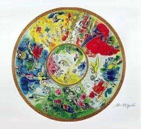 Marc Chagall - PARIS OPERA CEILING Giclee.