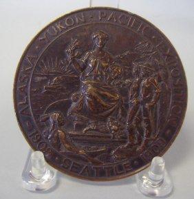1909 Alaska Yukon Pacific Exposition Award Medal