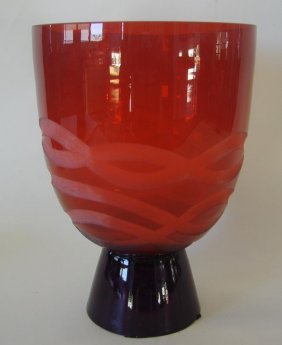 Waterford Evolution Art Glass Vase