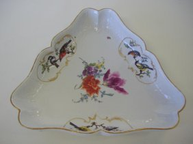 Meissen Porcelain Serving Bowl Rothschild Bird