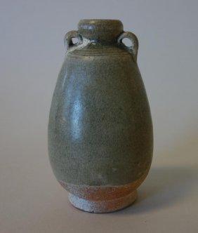 Sawankhalok Celadon Jar, Ming Dynasty (1368-1644)