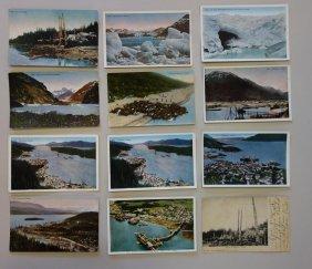 Early Alaska View Postcards
