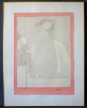 Bernard Cathelin (1919-2004) Female Nude