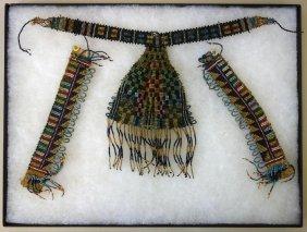 19thc Native American Indian Bead Work