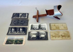 Underwood & Underwood Stereo Viewer & Cards