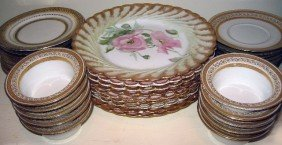 Set Of Old Berlin Pattern Dinnerware