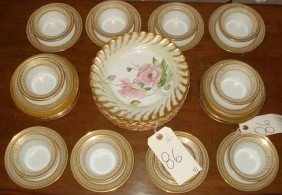 10 Limoges Ramikins And Underplates