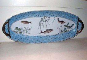 Limoge Fish Plates