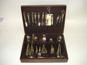 Group Of Stainless Flatware (47 Pieces)