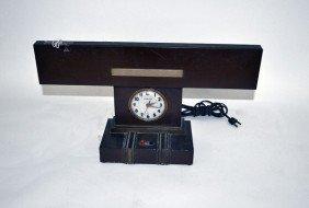 Lite Master Deco Clock Lamp