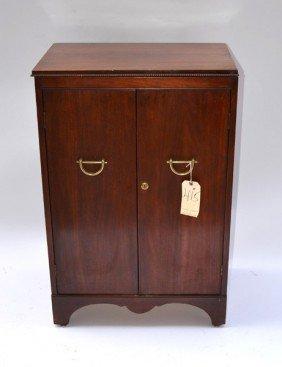 Mahogany Liquor Cabinet