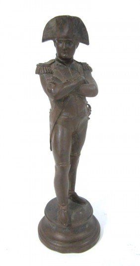 Antique Bronze Napoleon Sculpture
