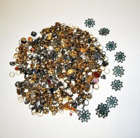 Large Group Of Costume Rings