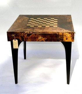 Aldo Tura Games Table