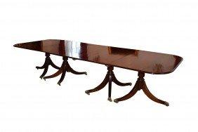 19th Century Mahogany Dining Room Table