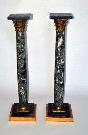 Pair Of Empire Pedestals
