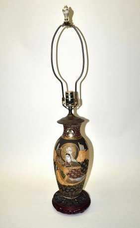 Chinese Decorated Lamp