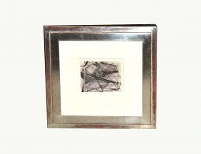"Dorothy Dehner Multimedia ""Nickel Drawing"""