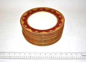 Thirteen Minton Plates