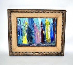 Gertrude Sandford Legendre, Oil On Canvas Board