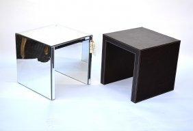 Two Contemporary Side Tables